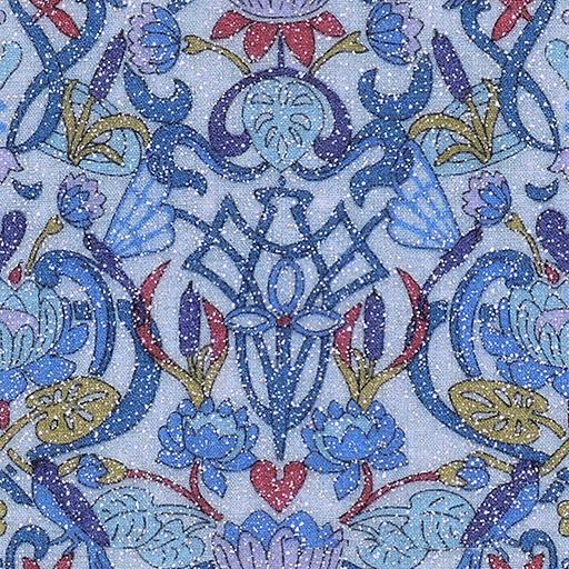 021640 - glitter textile print